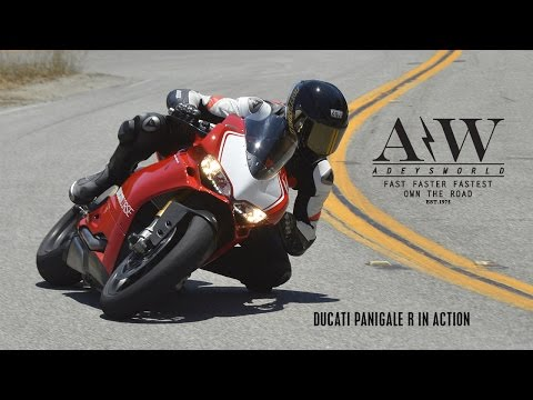 2015 DUCATI PANIGALE R FOLLOWS 2015 R1 ON THE SNAKEMULHOLLAND
