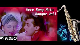 #322:- Mere Rang Mein Rangne Wali   Maine Pyar Kiya   S.P.Bala  Best Bollywood Saxophone Cover