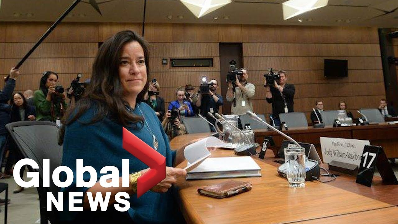Jody Wilson-Raybould's FULL statement to Commons justice committee