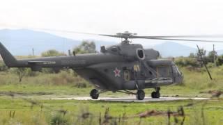 Взлетает вертолёт минобророны
