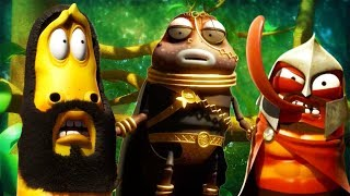 LARVA - LARVA WARRIORS | Cartoons For Children | LARVA Official