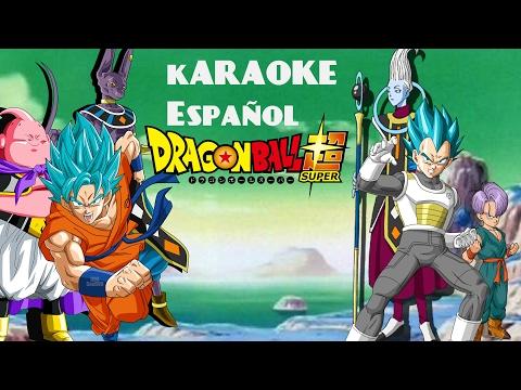 Dragon Ball Super Opening 2|Karaoke Español | Limit Break x Survivor 限界突破×サバイバー