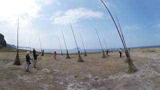 潮境海洋公園巨型掃把 360影片