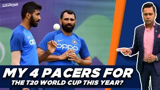 My 4 PACERS for T20 WORLD CUP?   #AakashVani   T20 WC 2020 Preview