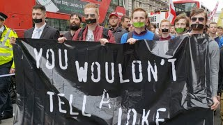 LIVE: Protest For Count Dankula In London (Sargon Speech at 22:00)