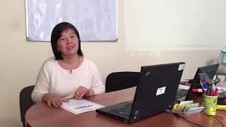 В нашем центре прошла обучение Сауле, очень переживала сможет ли обучаться