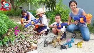 น้องบีม | รีวิวของเล่น EP169 | Nerf VS Dinosaur Toys