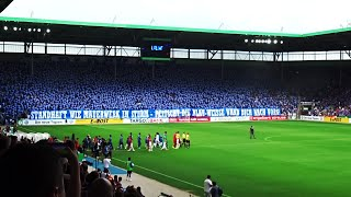 1.FC Magdeburg - Eintracht Frankfurt Choreo, Pyro, Support DFB Pokal 21.08.2016