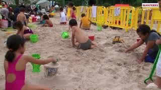 La plage à Nanterre