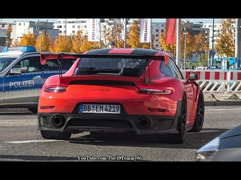 Acceleration Sounds & Launch Controls - NEW Porsche GT2 RS, GT3 RS, Huracan, Aventador, 720s!