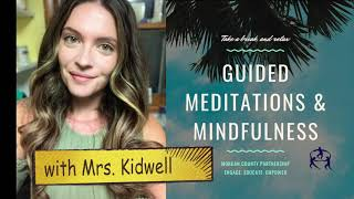 Promo:  Guided Meditations & Mindfulness w/Morgan County Partnership School Therapist, Lacee Kidwell