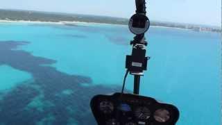 atemberaubender Helicopterrundflug über den Strand von Es Trenc mit Helipoint Mallorca