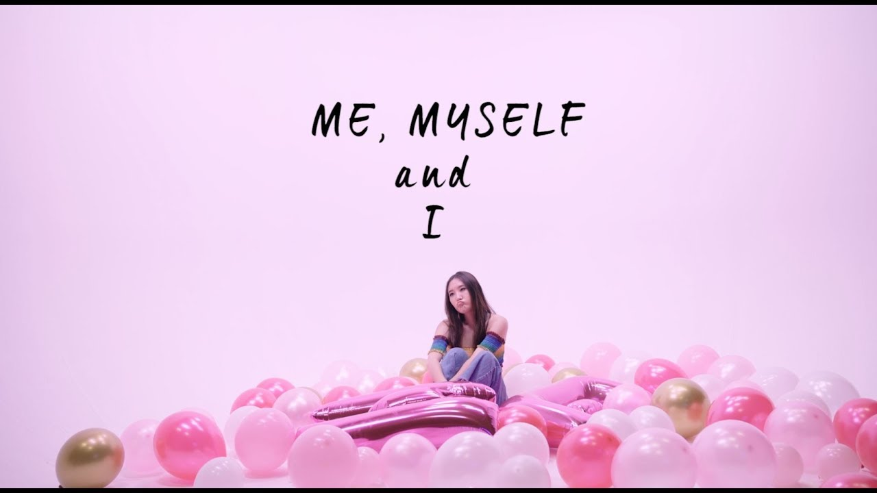 Megan Lee Me Myself And I Official Lyric Video Youtube
