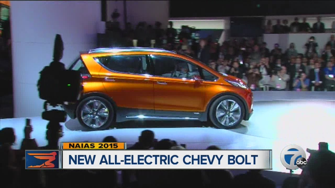 New All Electric Chevy Bolt Affordable Car As Soon 2016 You