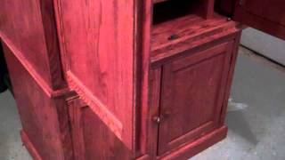 Quilt Storage Or A Tv Stand Solid Oak Furniture Armoire