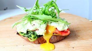 Полезный тост на завтрак / Healthy toast for Breakfast