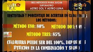 Por un pequeño costo aprenda a jugar y ganar Astro Sol y Astro Luna