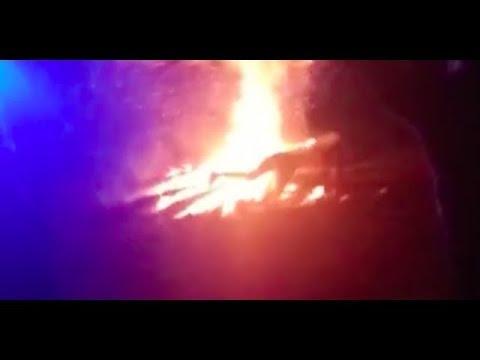 ШОК! Девушка упала в костер во время празднования Купалья в Витебске