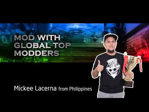 HYDRO PTM+ Mod - Blue Rig By Mickee Lacerna with FSP & Bitspower | Video by FSP. Global