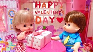 メルちゃんのバレンタイン チョコレート作り / Mell-chan Doll Valentine's Day Gift : Chocolate Making