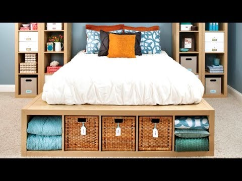 38 Storage Ideas for Small Bedrooms