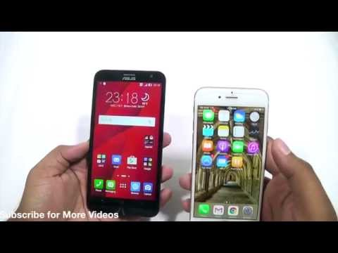 Asus Zenfone 2 Laser vs iPhone 6 Camera Comparison