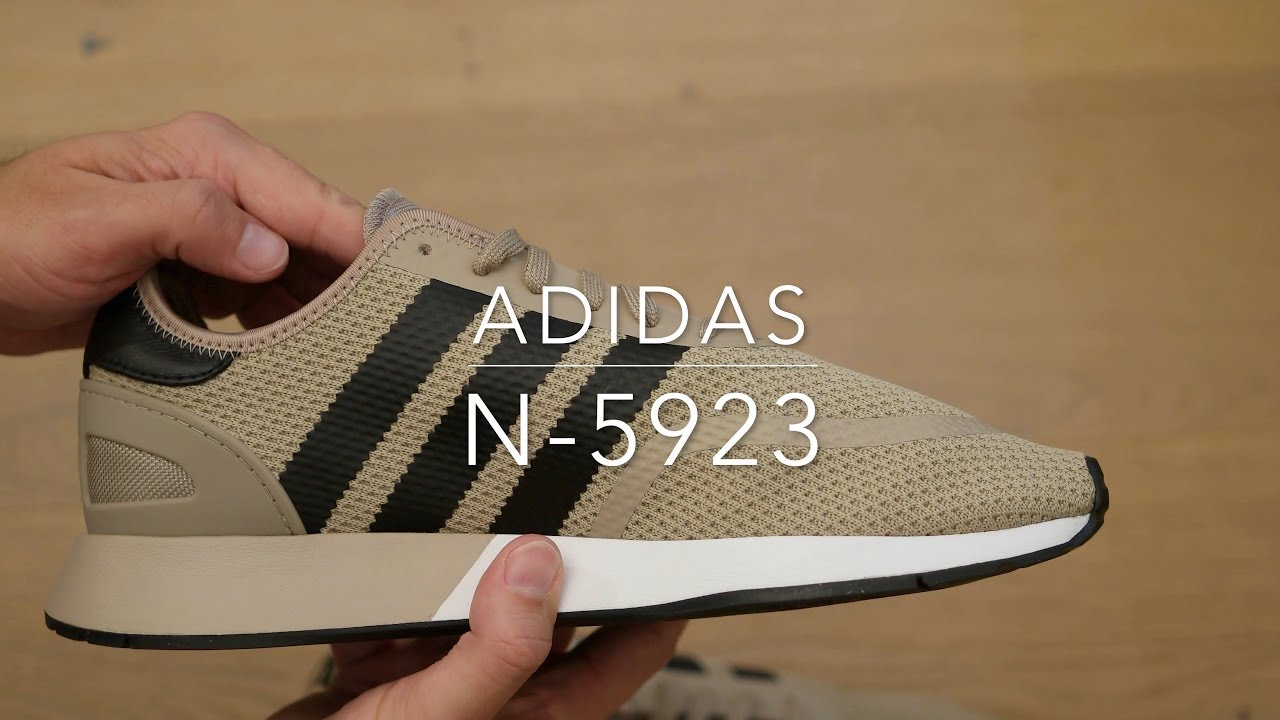 Adidas N-5923 shoes - YouTube