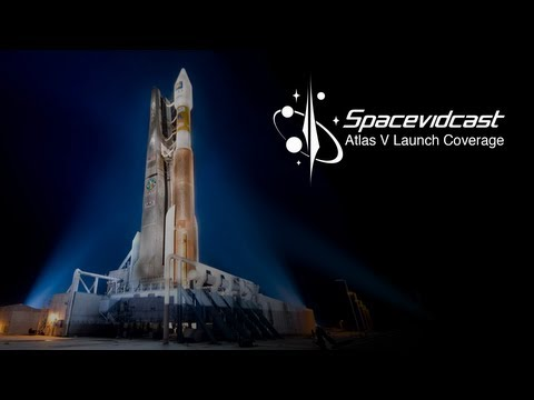 Live launch of LDCM via Atlas V Rocket
