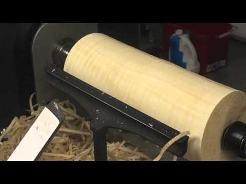 Opracovanie palivového dreva na sústruhu