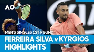 Frederico Ferreira Silva vs Nick Kyrgios match highlights (1R) | Australian Open 2021