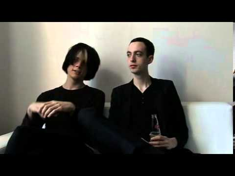The Horrors 2009 interview - Joshua and Tom (part 1)