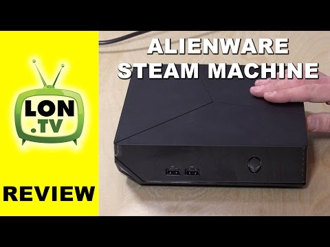 Alienware Steam Machine Review - SteamOS Powered Living Room PC - Compared to Alpha