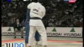 JUDO 1999 World Championships: Shinichi Shinohara 篠原 信 (JPN) - Jerome Dreyfus (FRA)