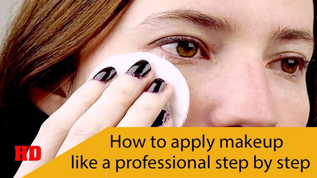 how to apply make up We take you through the process of how to apply face makeup, from start to finish.