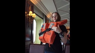 Day 1 ~ Cabin & Muster 🌞Family Vacation CRUISE Vlogs [ep2] Fathom Adonia