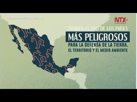 Más De 16 Asesinados En México Por Proteger El Medio Ambiente Y Su Tierra