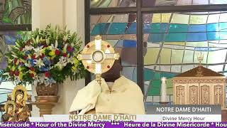 Heure de la Divine Miséricorde // 04.15.2021