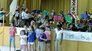 Eye of the Tiger - Bel Canto Music Camp
