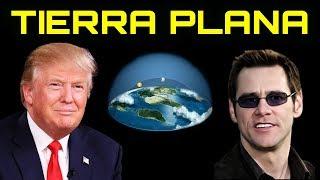 Jim Carrey, Trump y Fortnite muestran la Tierra Plana