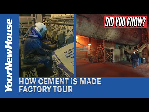 How Cement is Made: Inside a Cement Factory - Did You Know?