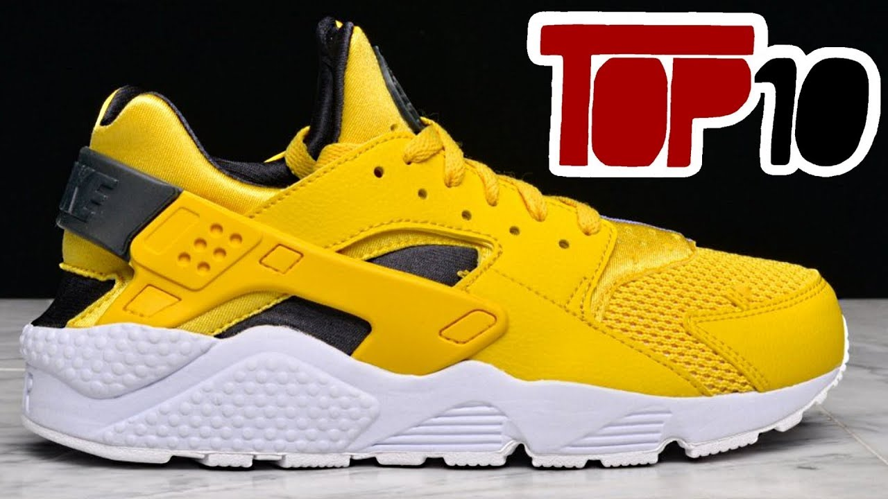 b0bc1ded162f Top 10 Nike Air Huarache Shoes Of 2018 - YouTube