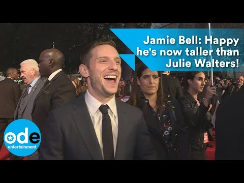 Jamie Bell happy now he's taller than Julie Walters