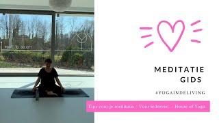 Leren mediteren - House of Yoga