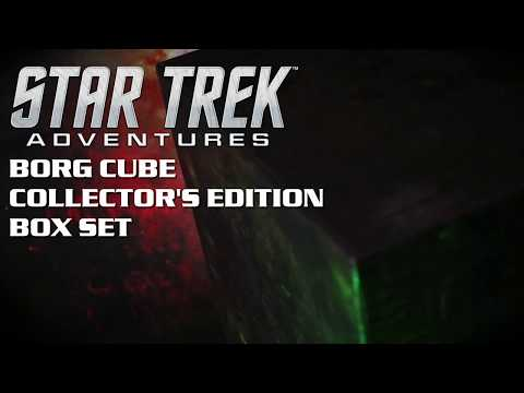 Star Trek Adventures - The Borg Cube Collector's Edition Box Set