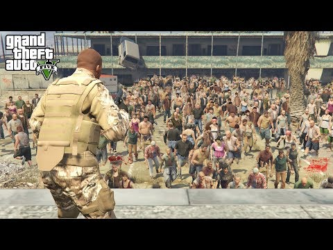 GTA 5 - O MAIOR APOCALIPSE ZUMBI DE TODOS OS TEMPOS!! thumbnail