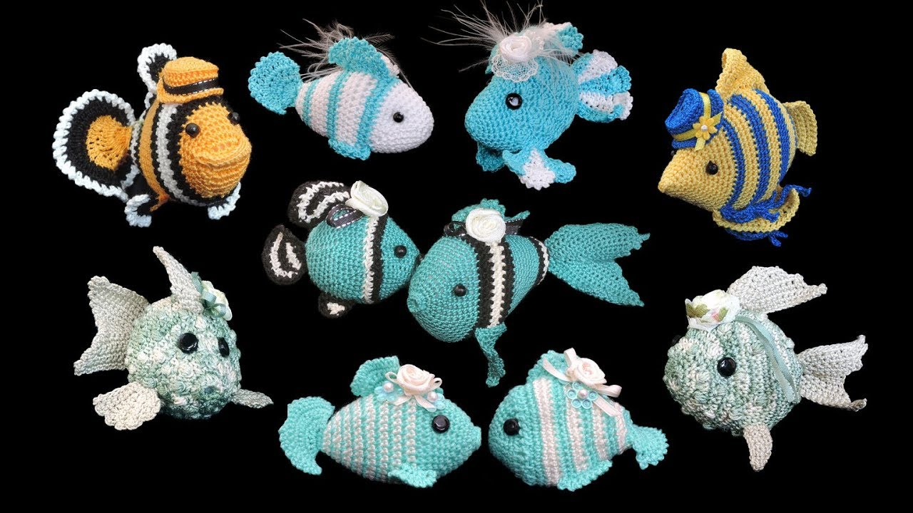 Fische Häkeln Fish Crochet Youtube