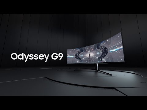 Odyssey G9: A futuristic gaming experience | Samsung