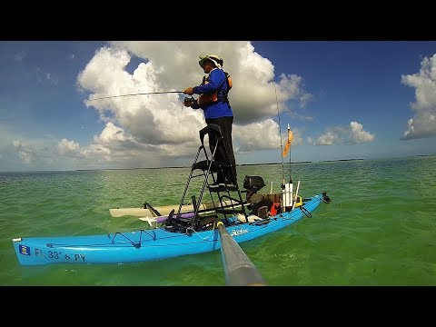 Key West Backcountry Fishing - A Evening On The Flats