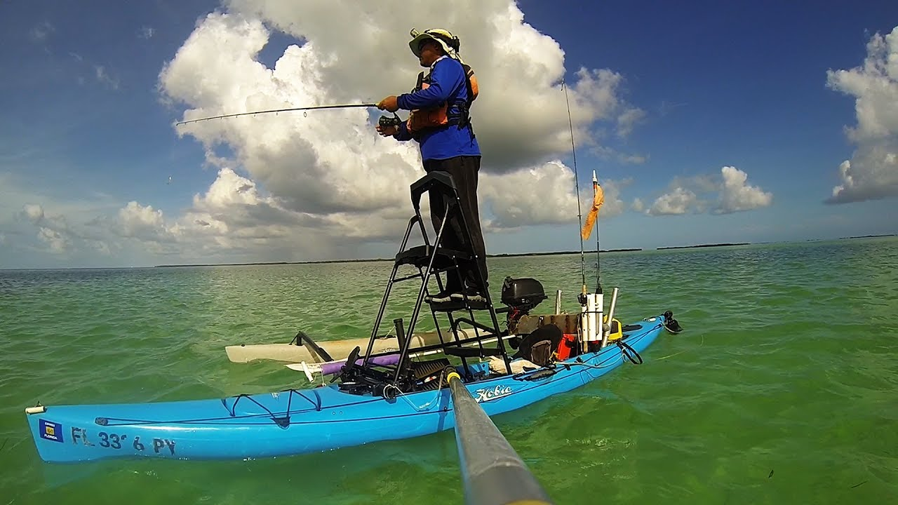 Key west backcountry fishing a evening on the flats for Key west kayak fishing