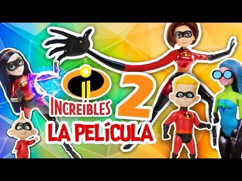 ⚡️ LOS INCREIBLES 2 ⚡️ La nueva película de Disney Pixar con Juguetes Fantásticos